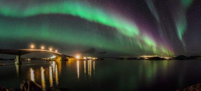Nordlys, Foto av Vidar Lysvold